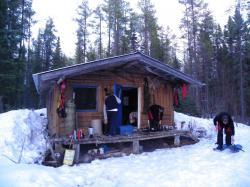 Cabane du camp ARKE