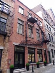 Immeuble avec échelle - rue du Sault-au-Matelot
